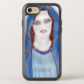 Mary In Blue OtterBox Symmetry iPhone 8/7 Case
