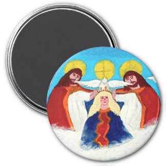 Mary In Heaven Magnet