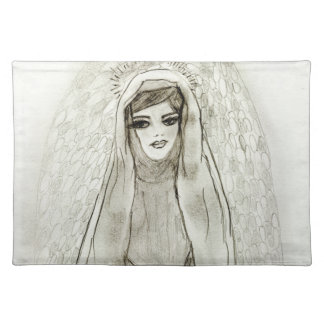 Mary in the Grotto Placemat