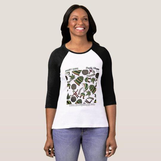 Mary Jane baseball jersey T-Shirt