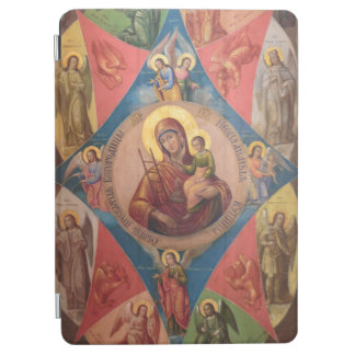 Mary, Jesus, And Angels iPad Air Cover