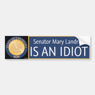 Mary Landrieu Bumper Sticker