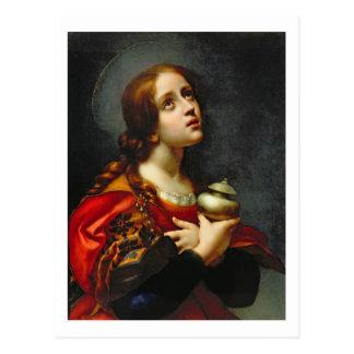 Mary Magdalene, 1660-70 (oil on canvas) Postcard