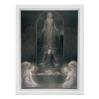 Mary Magdalene at the Sepulchre, c.1805 (w/c and p Poster