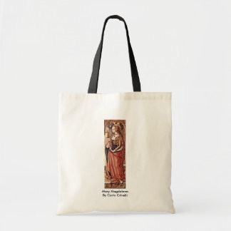 Mary Magdalene. By Carlo Crivelli Tote Bag