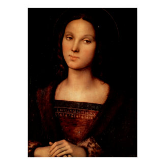 Mary Magdalene by Perugino Poster