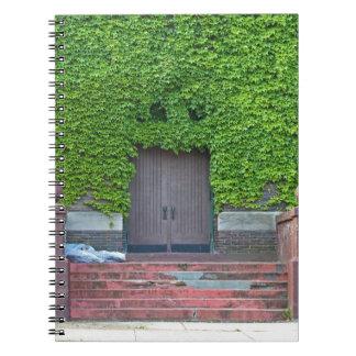 Mary Manse Doors- horizontal Notebooks