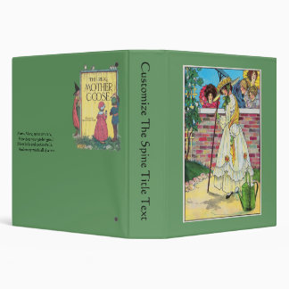 Mary, Mary, quite contrary 3 Ring Binder