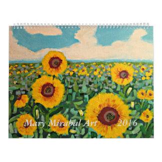 Mary Mirabal Art 2016 Calendar