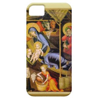 Mary montrant le bébé Jésus aux visiteurs iPhone 5 Case
