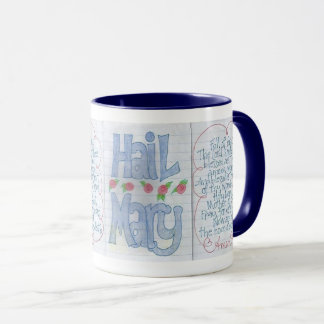 Mary Mug Morning Coffee Coco Prayer By Zazz_it