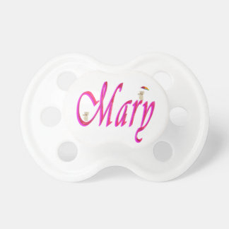 Mary, Name, Logo, Baby Girls 6 months+ Pacifier