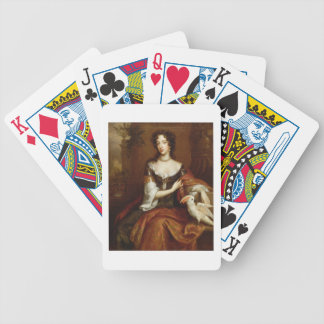 Mary of Modena (1658-1718), c.1685 (oil on canvas) Bicycle Playing Cards