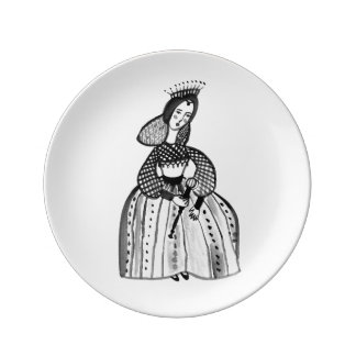 Mary of Scotland Plate