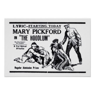 Mary Pickford 1919 vintage movie ad poster