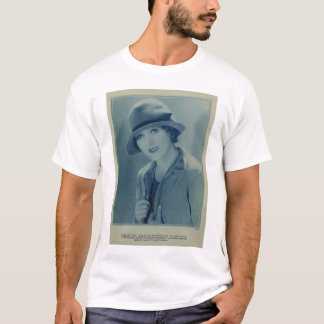 Mary Pickford 1928 portrait with hat T-Shirt