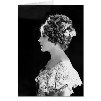 Mary Pickford, Canadian-American Actress Card
