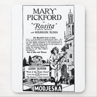 Mary Pickford Rosita 1924 Mouse Pad