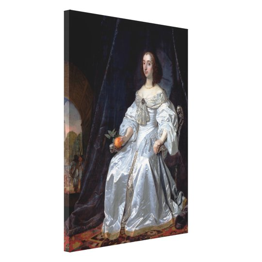 Mary, Princess of Orange Canvas Print