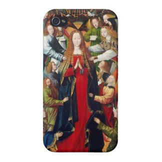 Mary, Queen of Heaven, c. 1485- 1500 iPhone 4 Covers