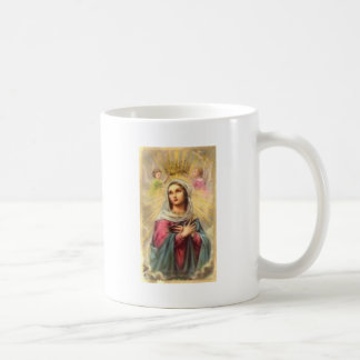 Mary Queen of Heaven, Gift, Mug, Tie, Sticker Coffee Mug