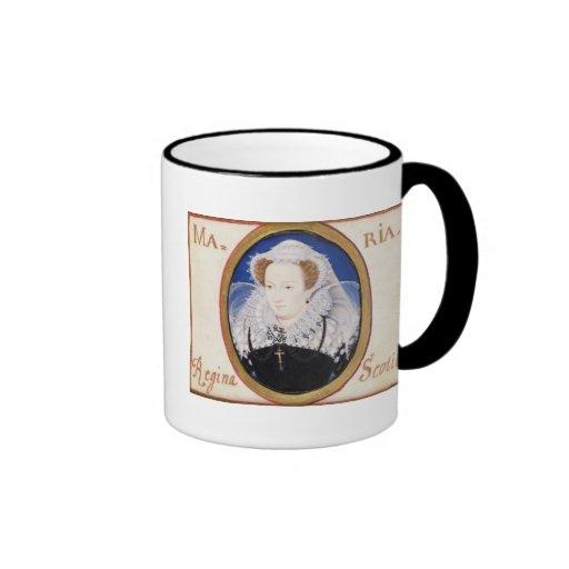 Mary Queen of Scots (1542-87) (gouache on vellum) Coffee Mug