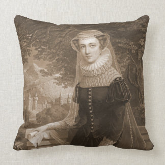 Mary Queen of Scots 1852 Throw Pillow