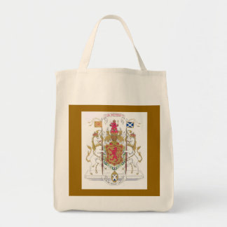 MARY QUEEN OF SCOTS COURT OF ARMS TOTE BAG