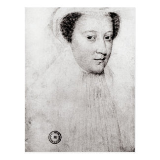 Mary, Queen of Scots  in white mourning, 1560 Postcard