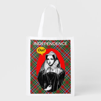 Mary Queen of Scots Independence Grocery Bag