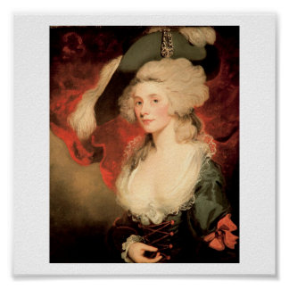 Mary Robinson as Perdita by John Hoppner 1758 1810 Poster