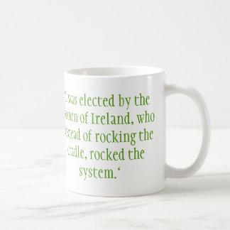 Mary Robinson, Irish President Coffee Mug