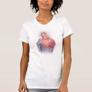 Mary Sacred Heart Boy Beater T-Shirt