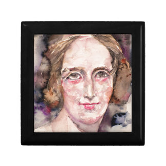 mary shelley - watercolor portrait gift box