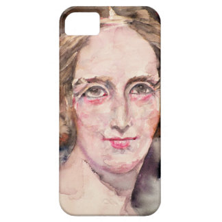 mary shelley - watercolor portrait iPhone 5 cases