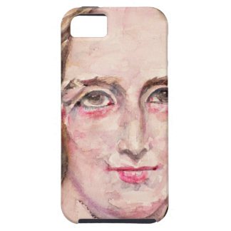 mary shelley - watercolor portrait iPhone 5 covers
