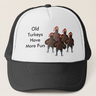 Mary Sue's Turkey Outfits Trucker Hat