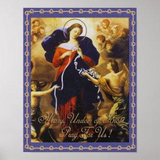 MARY, UNDOER OF KNOTS. POSTER