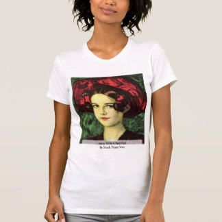 Mary With A Red Hat By Stuck Franz Von T-Shirt
