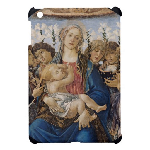 Mary with Child and Singing Angels by Botticelli iPad Mini Case