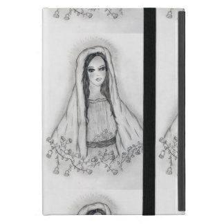 Mary with Roses Cover For iPad Mini