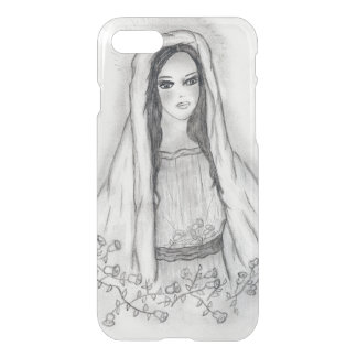 Mary with Roses iPhone 8/7 Case