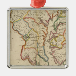 Maryland 4 metal ornament