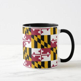Maryland Abstract Pattern Mug
