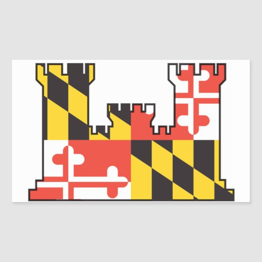 Maryland Army National Guard Engineer Sticker