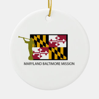 MARYLAND BALTIMORE MISSION LDS CTR CERAMIC ORNAMENT