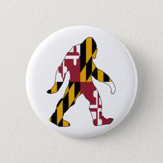 Maryland Bigfoot 2 Inch Round Button