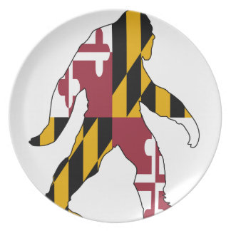 Maryland Bigfoot Dinner Plate