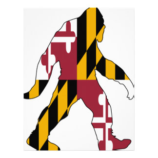 Maryland Bigfoot Letterhead