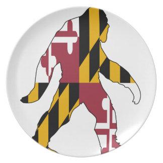 Maryland Bigfoot Plate